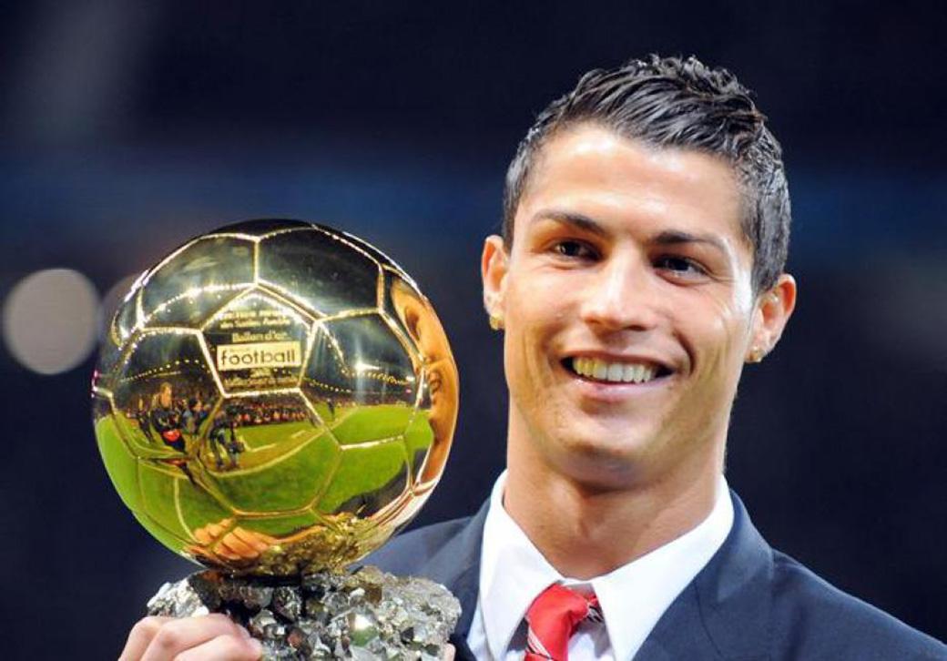 Ronaldo vandt Ballon d'Or 2013