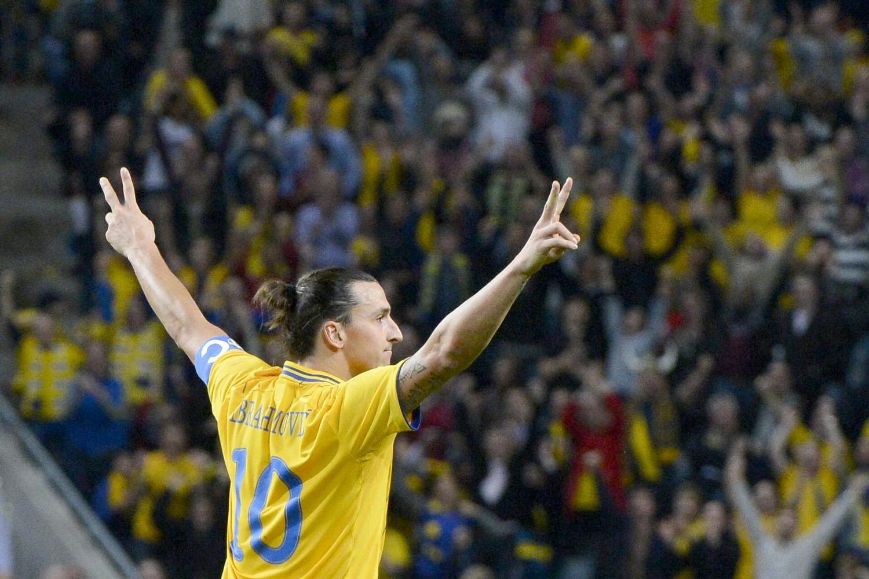 Zlatans Saksespark for Sverige imod England