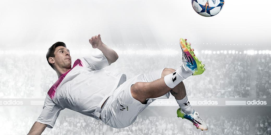 nye Adidas F50 fodboldstøvler