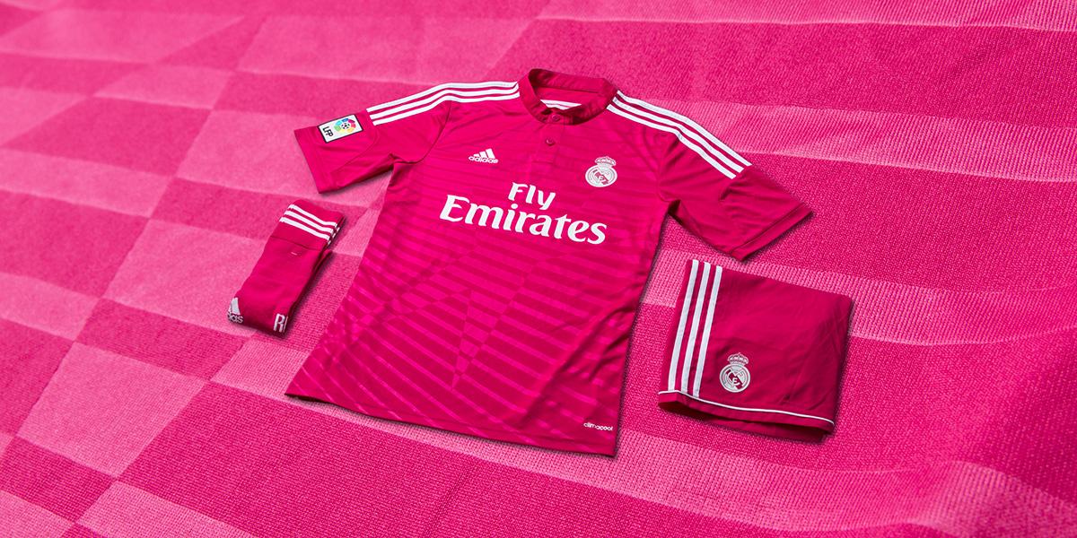 Pink Real Madrid trøje