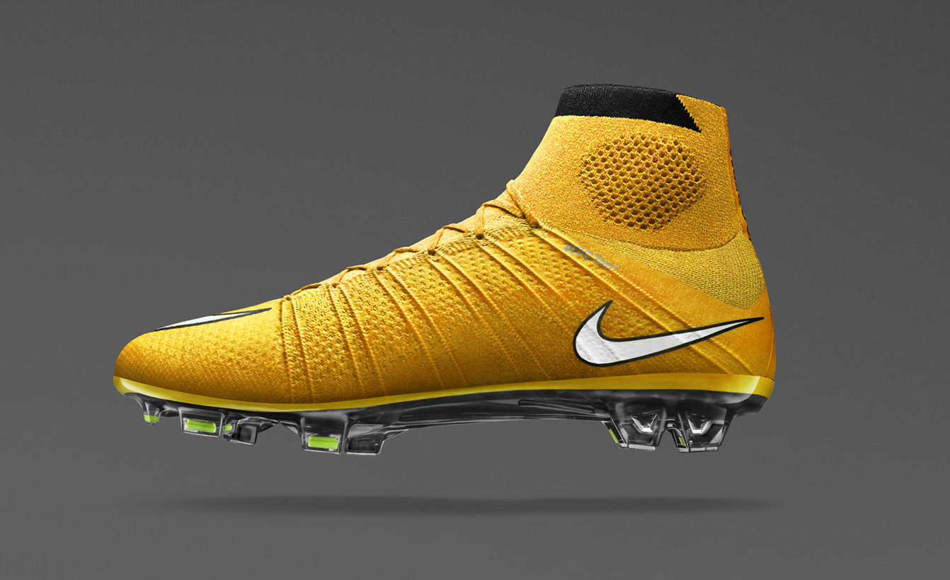 Orange Nike Mercurial Superfly