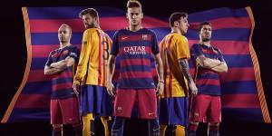 Barcelona Fodboldtrøje 2015