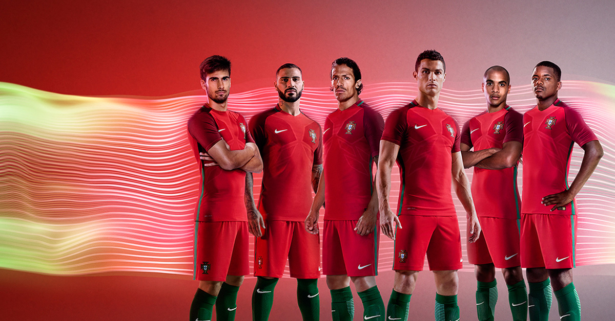 Portugals landsholdstrøje 2016