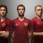 Ruslands landsholdstrøje 2016