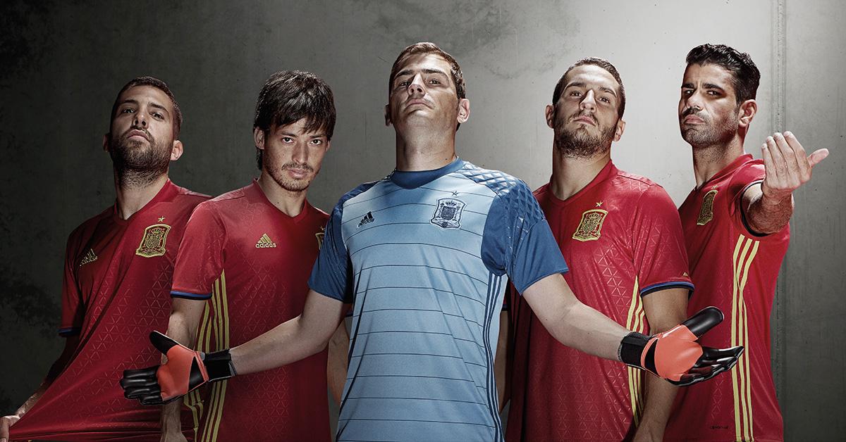 Spaniens Landsholdstrøje 2016