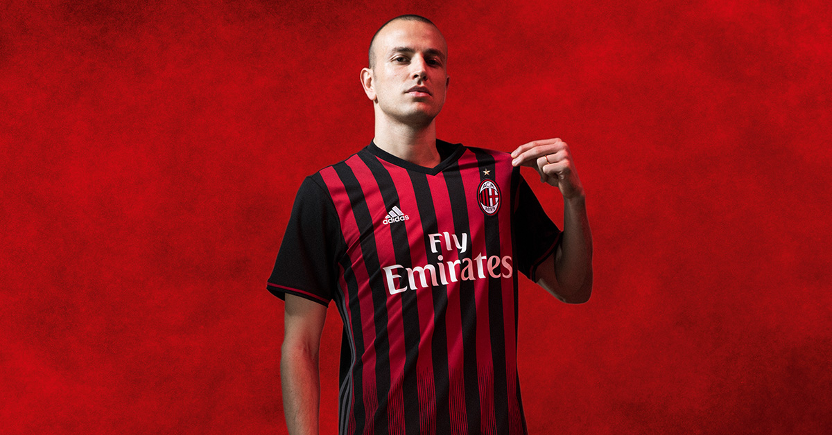 AC Milan Hjemmebanetrøje 2016