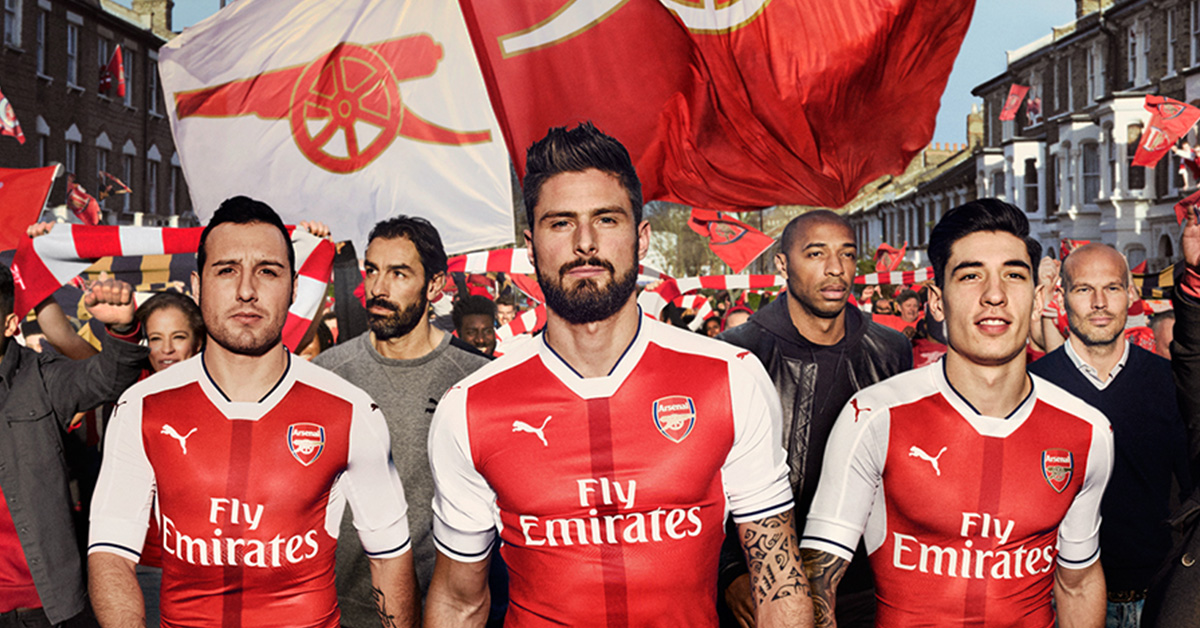 Arsenal Hjemmebanetrøje 2016