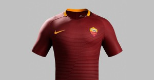 AS Roma Hjemmebanetrøje 2016