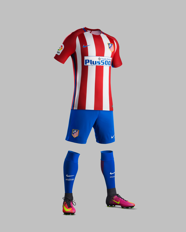 Atletico Madrid Hjemmebanetrøje 2016