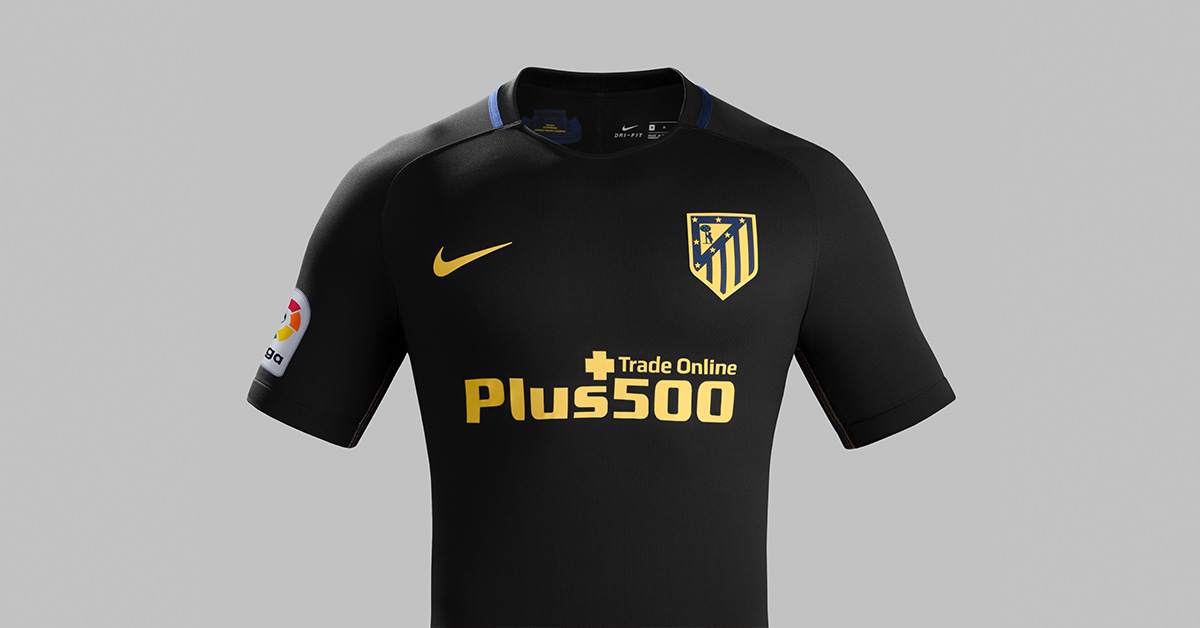 Atletico Madrid Udebanetrøje 2016