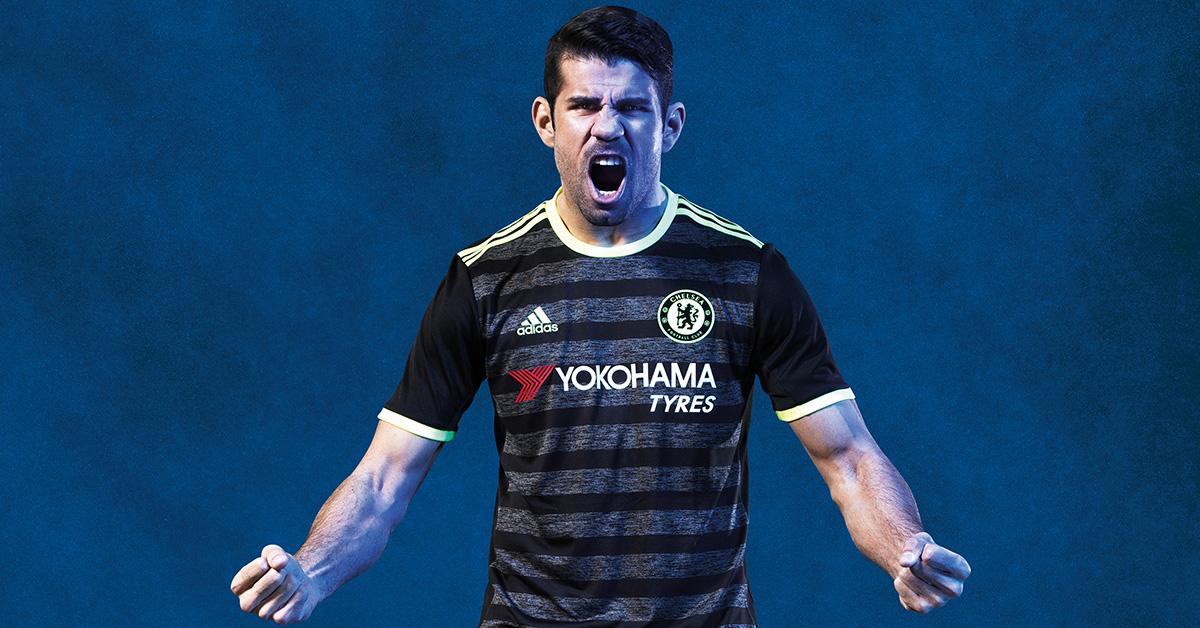 Chelsea FC Udebanetrøje 2016