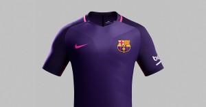 FC Barcelona Udebanetrøje 2016