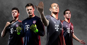 FC Bayern München Udebanetrøje 2016