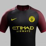 Manchester City Udebanetrøje 2016