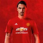 Zlatan Ibrahimovic Manchester United Fodboldtrøje