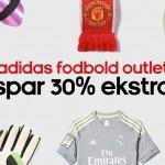 Spar 30% ekstra på Adidas Fodbold Outlet