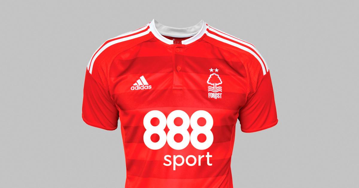 Nicklas Bendtner Nottingham Forest Fodboldtrøje
