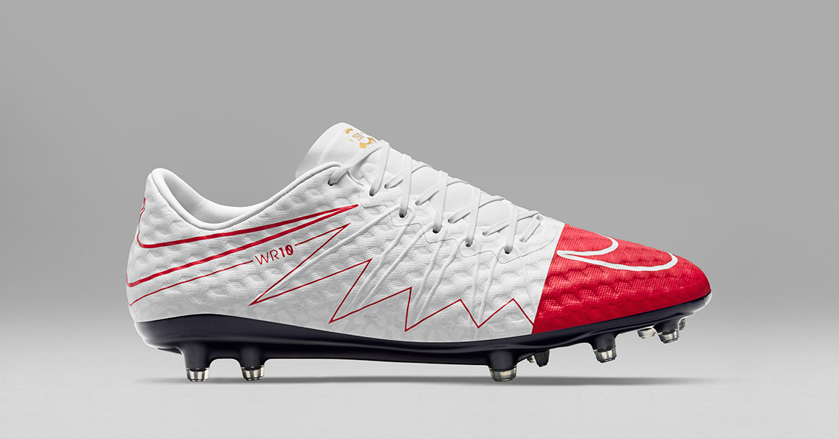 Wayne Rooneys Nike Hypervenom WR250 Fodboldstøvler
