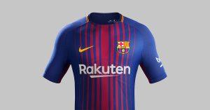 FC Barcelona Hjemmebanetrøje 2017