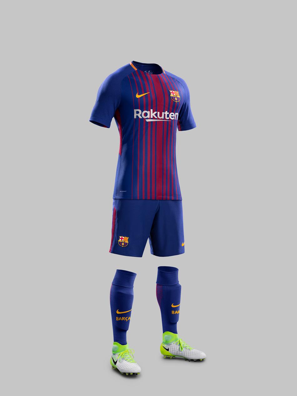 FC Barcelona Hjemmebanedragt 2017