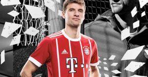 FC Bayern München Hjemmebanetrøje 2017