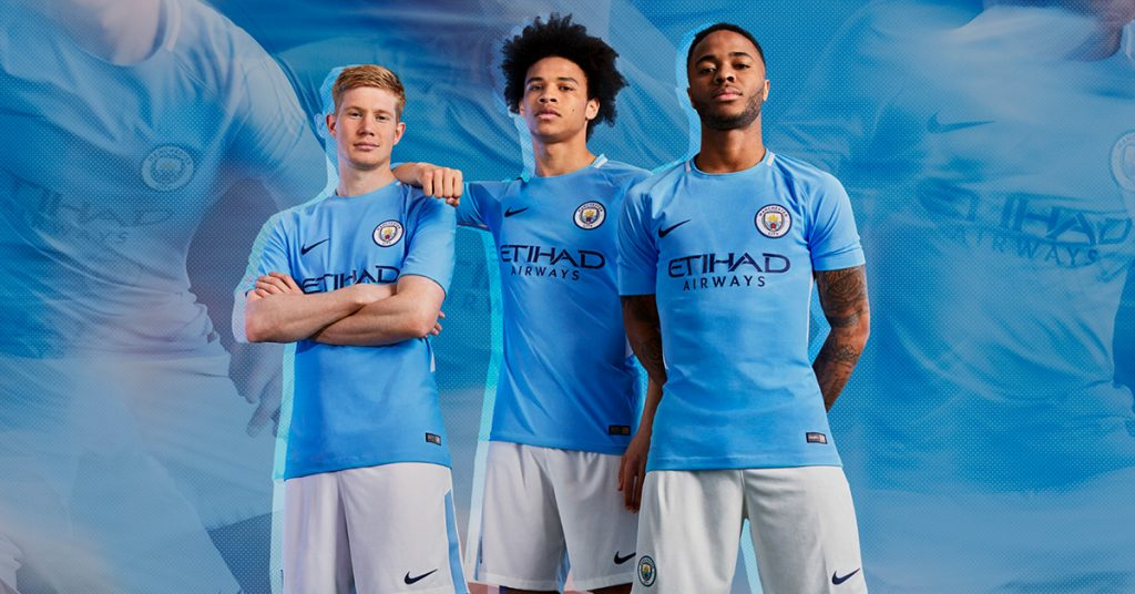 Manchester City Hjemmebanetrøje 2017