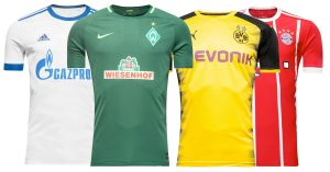 Bundesliga Fodboldtrøjer