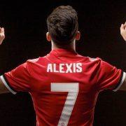 Alexis Sanchez Manchester United Spillertrøje