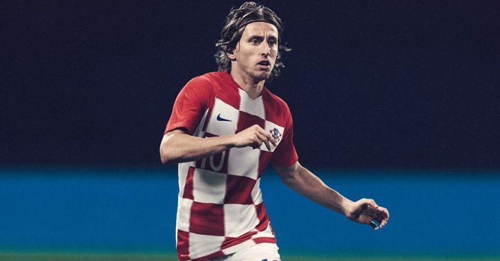 Kroatiens Landsholdstrøje til VM 2018