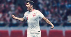 Polens Landsholdstrøje til VM 2018