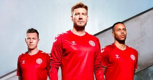 Danmarks Landsholdstrøje til VM 2018