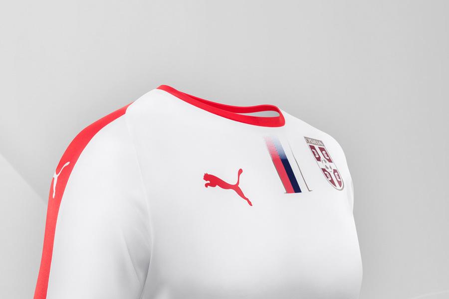 Serbiens Landsholdstrøje til VM 2018