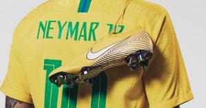 Neymars Gule Nike Mercurial Vapor Fodboldstøvler