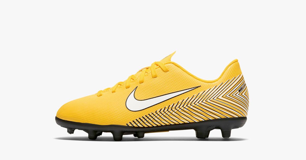 Neymars Gule Nike Fodboldstøvler til børn