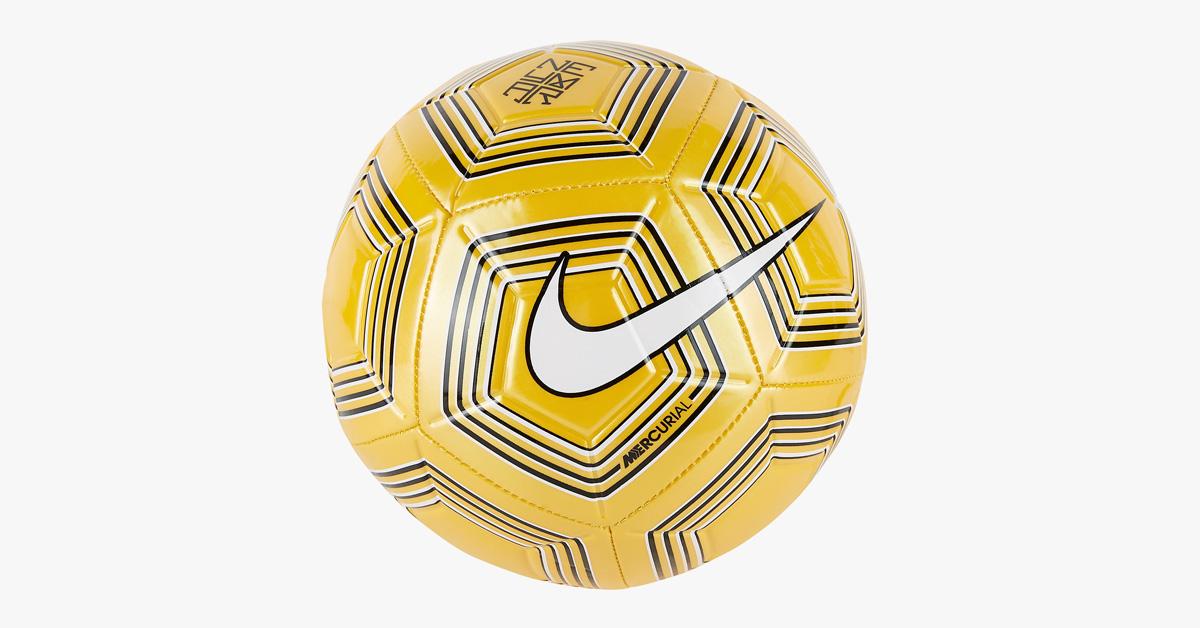 Gul Neymar Nike Fodbold