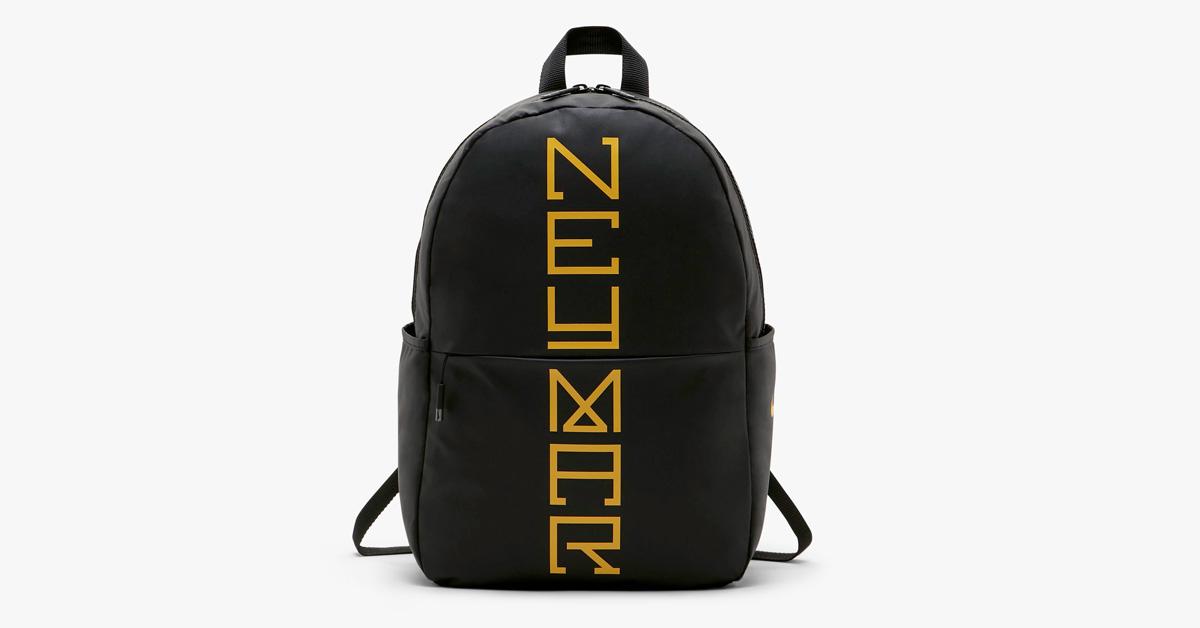 Sort og gul Neymar Nike taske