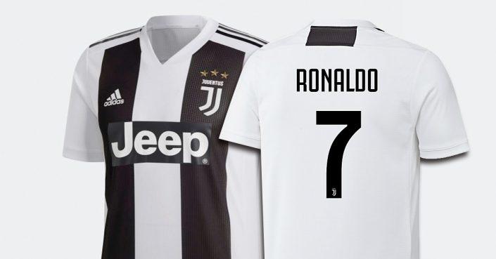 Ronaldo Juventus Fodboldtrøje 2018