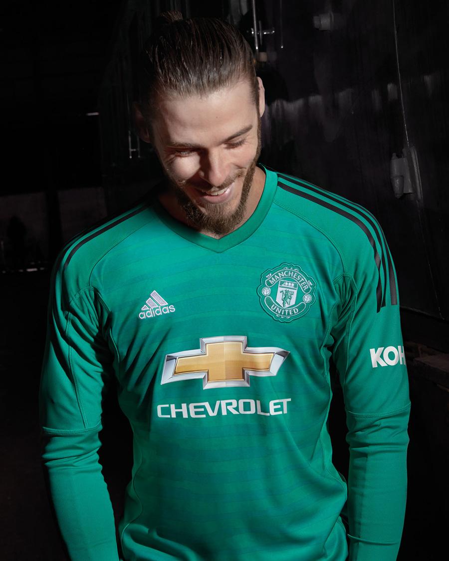 Manchester Uniteds Målmandstrøje 2018