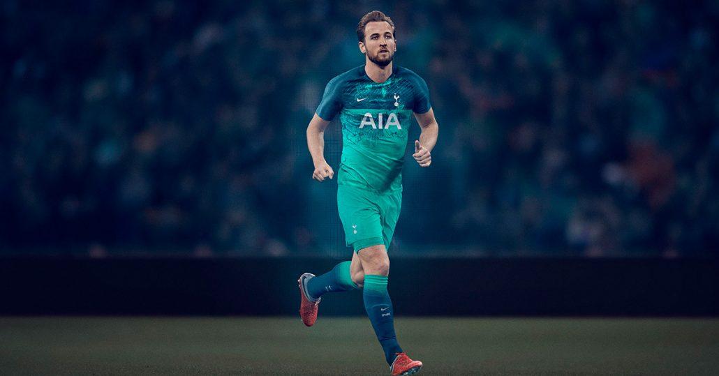 Den Tyrkise Tottenham 3. trøje 2018