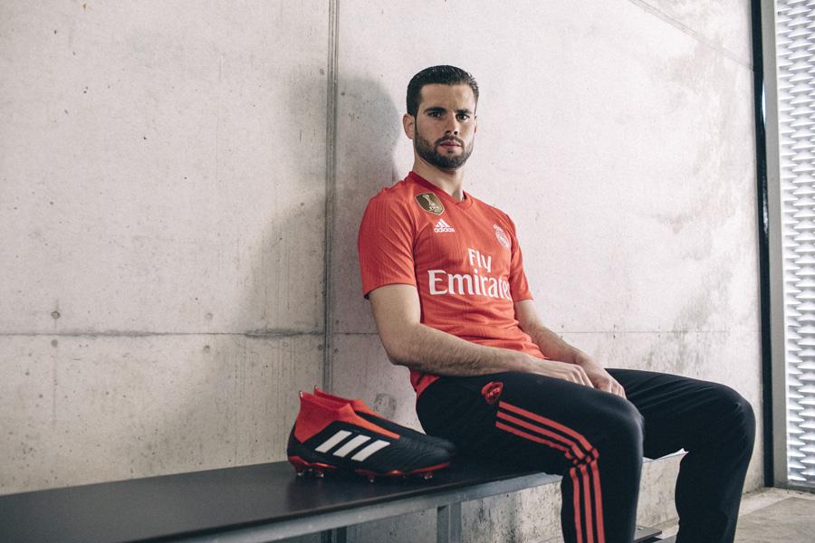 Den Røde Real Madrid 3. Trøje 2018