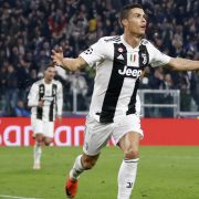 Cristiano Ronaldos mål for Juventus mod Manchester United