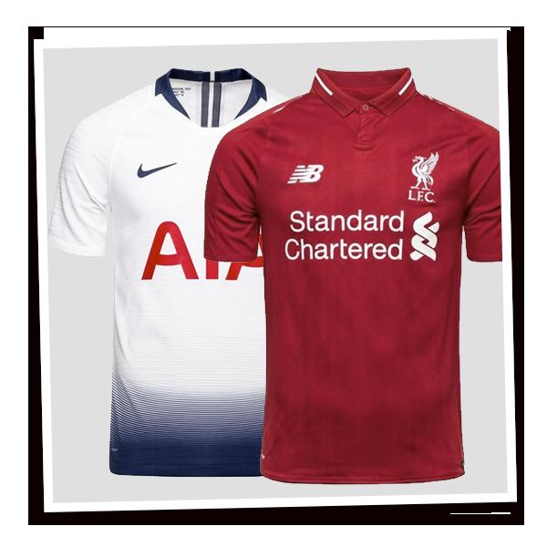 Engelske Fodboldtrøjer
