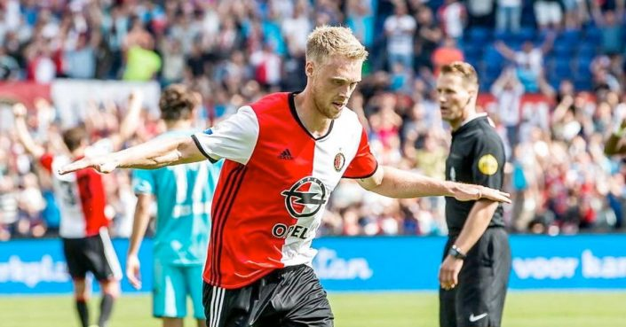 Nicolai Jørgensen på vej væk fra Feyenoord?