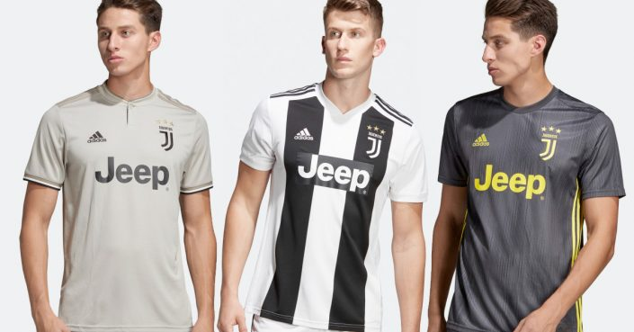 Juventus Fodboldtrøje 2018