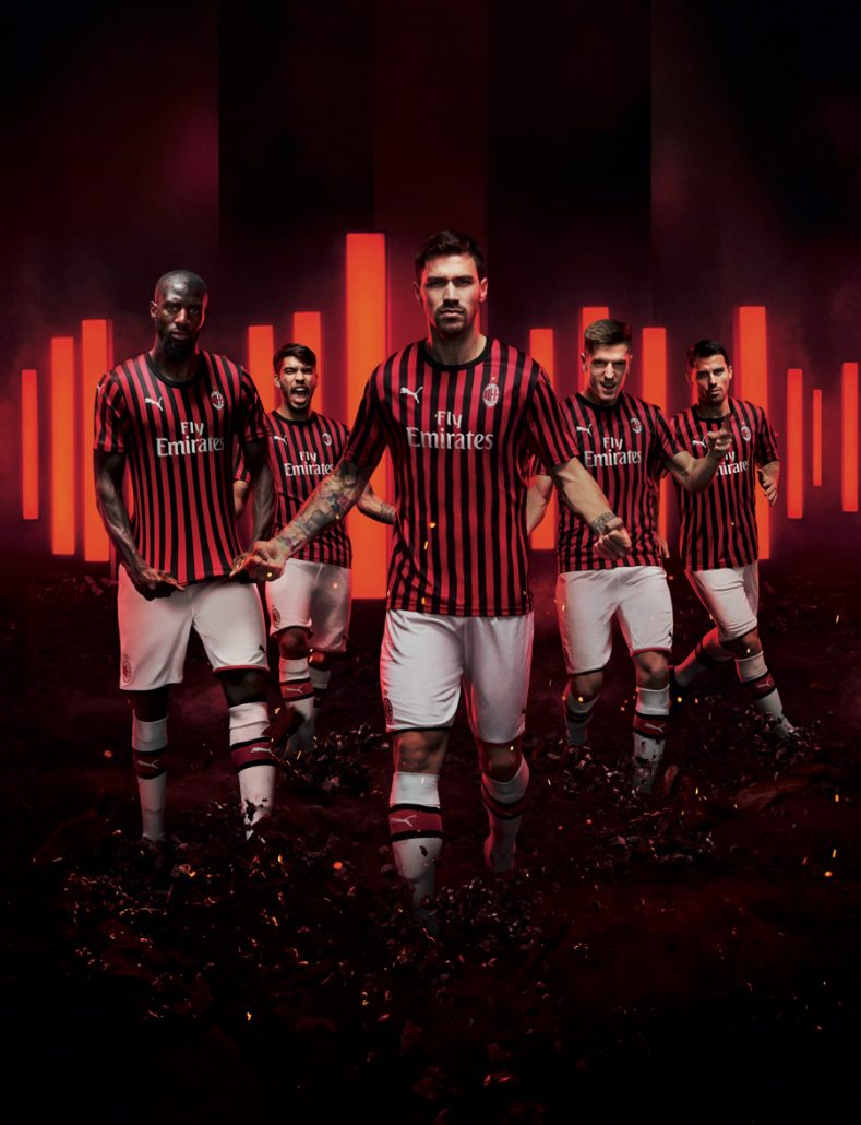 AC Milan Hjemmebanetrøje 2019