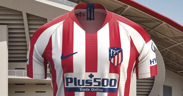 Atletico Madrid Hjemmebanetrøje 2019