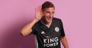 Grå Leicester City FC Udebanetrøje 2019