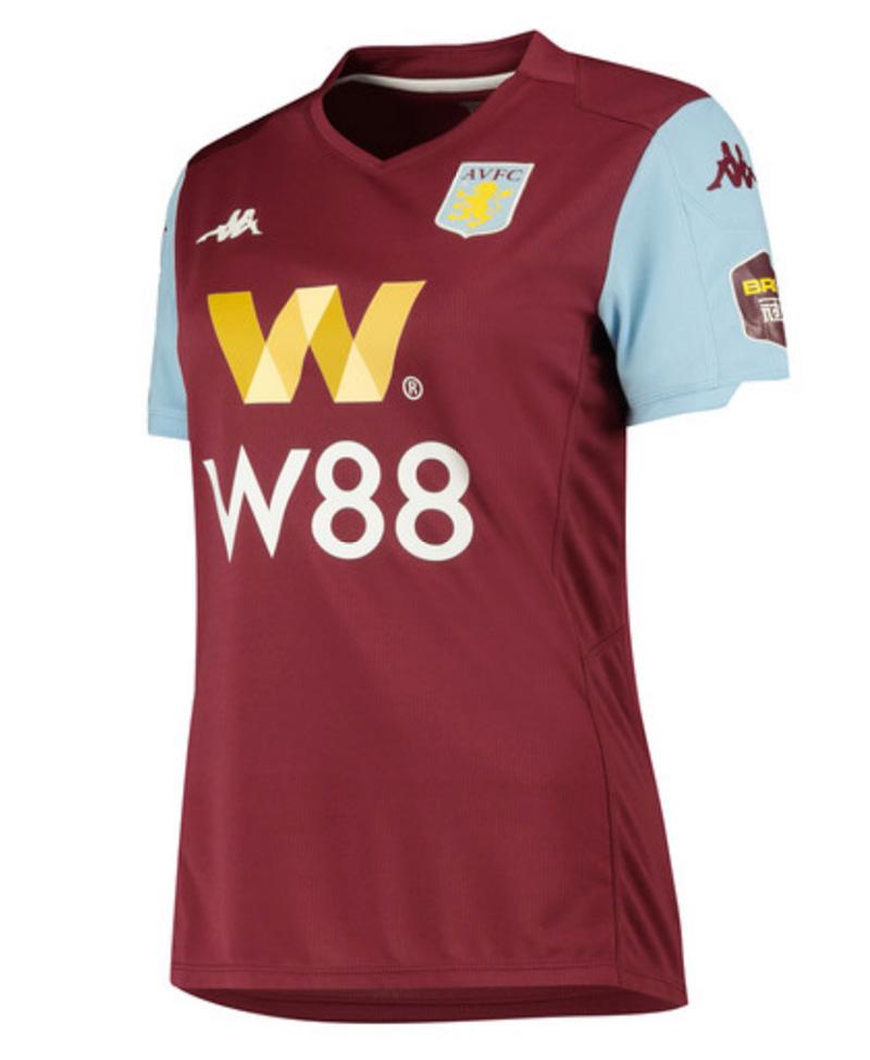 Aston Villa FC Hjemmebanetrøje 2019