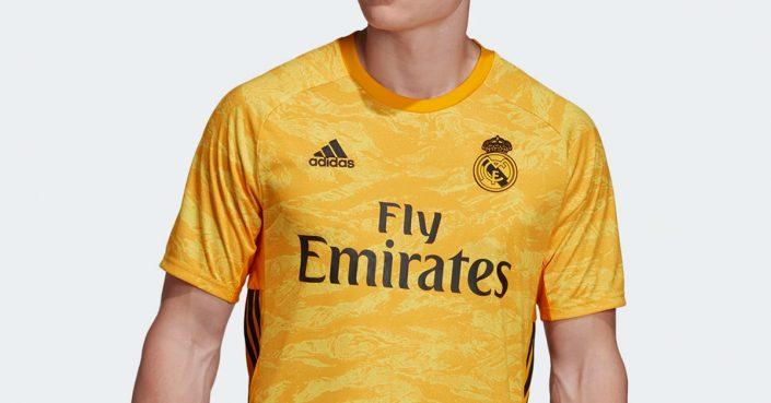 Courtois Real Madrid Målmandstrøje 2019
