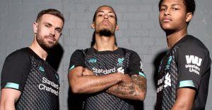 Sort Liverpool FC 3. Trøje 2019